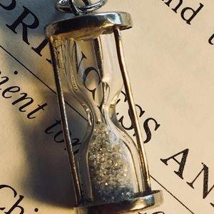 Jewelry - Silver Hourglass Pendant